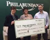 Garden State Tile Philadelphia Showroom donated $2600.00 to Philabundance